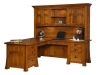Bridgefort Mission Corner Desk-LN