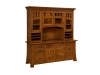 Bridgefort Credenza with Hutch-LN