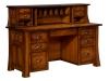 Bridgefort Mission File Desk w/Topper-LN