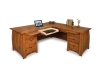 Boulder Creek L-Shape Desk-FV