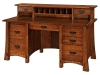 Morgan Desk with Desk Topper-CV