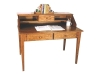 Shaker Paymaster Desk w/Hutch Top-LA-09-LB