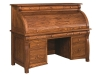 Castlebury Rolltop Desk-closed- R65CA-EI