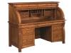 Castlebury Rolltop Desk-Open-R65CA-EI