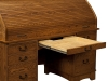 Castlebury Rolltop Desk Hidden Compartment-EI