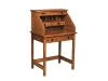 Post Mission Rolltop Writing Desk-Open-EI