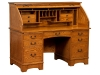 Noble Mission Rolltop Desk: #NR605-EI