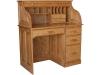 Single Pedestal Rolltop Desk: #R422-EI
