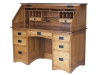 Mission Rolltop Desk-Open: #R565M-EI