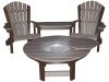 C111-Classic Beach Chair Tete-A-Tete-CR