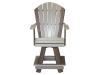 C116- Classic Swivel Balcony Chair-CR