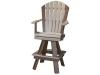 C102- Classic Swivel Bar Chair-CR