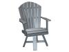 C115-Classic Swivel Dining Chair-CR