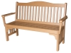 M220-Mission Park Bench with Back and Arms-CR