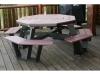 OT805-Octagon Picnic Table-CR