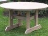 RT54D-Round Dining Table-CR