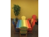 Outdoor Poly Lumber Furniture Tropical Colors