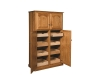 HLTP179 Lux Traditional 4-Door Pantry-HB