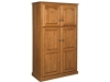HLTP177 Lux Traditional 4-Door Pantry-HB