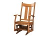 063-Aspen Glider with Wood Seat-DE