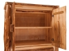Log 3 Drawer Armoire-Shown Open-Aspen-FS