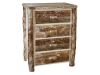 Log 4 Drawer Dresser-Aspen-FS