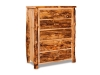 Log 5 Drawer Chest-Aspen-FS