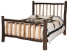 654-Lumber Jack Spindle Bed-HH