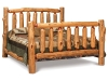 Log Extra High Log Bed-King Size-Red Cedar-FS