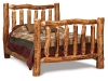 Log Extra High Log Bed-Queen Size-Aspen-FS
