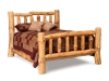 Log Bed-Queen-Rustic Pine-FS