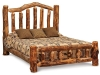 Log Bed-Queen w/Low Foot Board-Bunky Board-FS