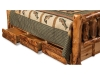 Log Bed Storage Bed-Aspen-FS