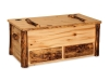 Log Hope Chest w/Drawer-Aspen-FS