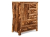 Log Side Door Armoire-Aspen-FS