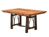 1214-Twig Trestle Table-HH