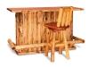 Kitchen Bar-Front View-Red Cedar-FS