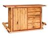 Kitchen Bar-Red Cedar-FS