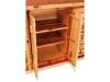 Kitchen Bar-Door Opening-Red Cedar-FS
