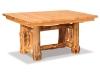 Log Leaf Table-Rustic Pine-FS
