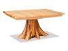 Log Stump Table w/Leaves-Aspen-FS