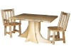 Fireside Stump Dining Tables, Side & Arm Chairs-Rustic Pine-FS