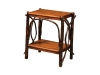 1404-End Table with Solid Top and Shelf-HH
