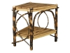 1404W-Wedge Shaped End Table-HH