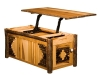 1479-Wildwood Lift Top Coffee Table: Open-HH