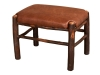 1162-Fireside Footstool with Fabric-HH
