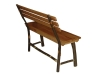 1302-Bench with Back-HH