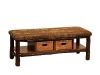 1313-Bench with Baskets-HH