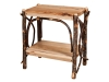 1404-End Table with Solid Shelves-HH