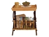 1405-End Table-Magazine Rack-HH
